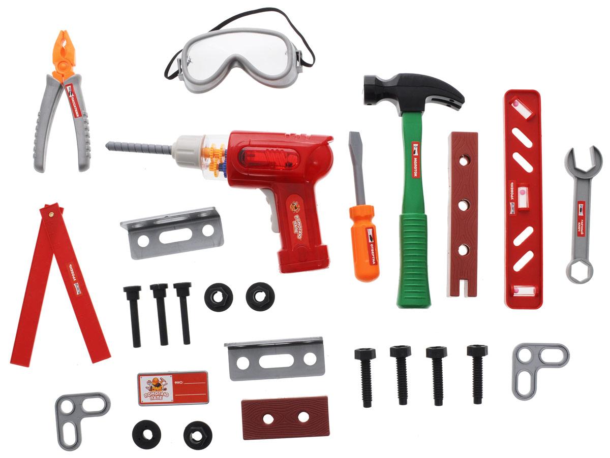 Подробнее о ABtoys Игрушечный набор инструментов 26 предметов abtoys игрушечный набор инструментов 26 предметов
