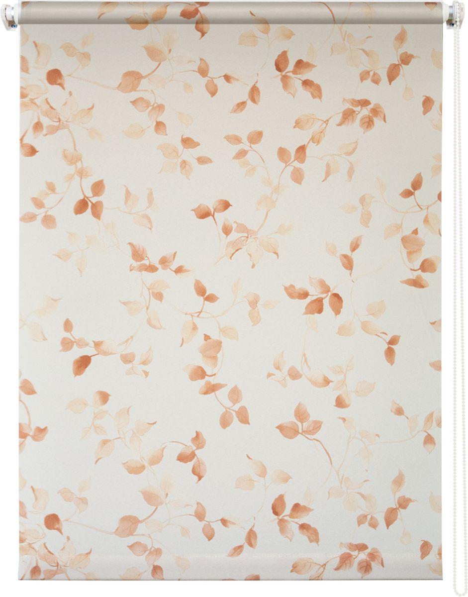 Штора рулонная Уют Березка, цвет: белый, коричневый, 70 х 175 см62.РШТО.8983.070х175Штора рулонная Уют Березка выполнена из прочного полиэстера с обработкой специальным составом, отталкивающим пыль. Ткань не выцветает, обладает отличной цветоустойчивостью и светонепроницаемостью. Штора закрывает не весь оконный проем, а непосредственно само стекло и может фиксироваться в любом положении. Она быстро убирается и надежно защищает от посторонних взглядов. Компактность помогает сэкономить пространство. Универсальная конструкция позволяет крепить штору на раму без сверления, также можно монтировать на стену, потолок, створки, в проем, ниши, на деревянные или пластиковые рамы. В комплект входят регулируемые установочные кронштейны и набор для боковой фиксации шторы. Возможна установка с управлением цепочкой как справа, так и слева. Изделие при желании можно самостоятельно уменьшить. Такая штора станет прекрасным элементом декора окна и гармонично впишется в интерьер любого помещения.