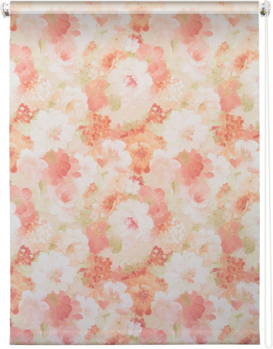 Штора рулонная Уют Пионы, цвет: розовый, 90 х 175 см62.РШТО.8942.090х175Штора рулонная Уют Пионы выполнена из прочного полиэстера с обработкой специальным составом, отталкивающим пыль. Ткань не выцветает, обладает отличной цветоустойчивостью и светонепроницаемостью. Штора закрывает не весь оконный проем, а непосредственно само стекло и может фиксироваться в любом положении. Она быстро убирается и надежно защищает от посторонних взглядов. Компактность помогает сэкономить пространство. Универсальная конструкция позволяет крепить штору на раму без сверления, также можно монтировать на стену, потолок, створки, в проем, ниши, на деревянные или пластиковые рамы. В комплект входят регулируемые установочные кронштейны и набор для боковой фиксации шторы. Возможна установка с управлением цепочкой как справа, так и слева. Изделие при желании можно самостоятельно уменьшить. Такая штора станет прекрасным элементом декора окна и гармонично впишется в интерьер любого помещения.