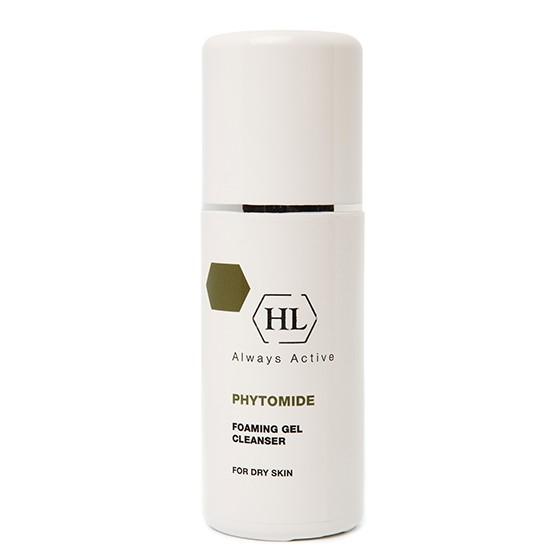Holy Land Очищающий гель Phytomide Foaming Gel Cleanser 150 мл117034Пенящийся гель для щадящего очищения кожи всех типов, включая кожу век. Деликатное очищение кожи от макияжа и загрязнений. Активные компоненты: комплекс Phytolene, экстракт ромашки.