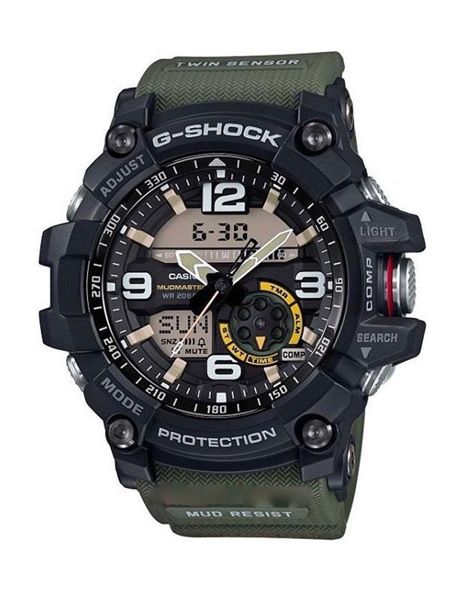 Наручные часы мужской Casio G-Shock, цвет: черный, защитный. GG-1000-1A3GG-1000-1A3