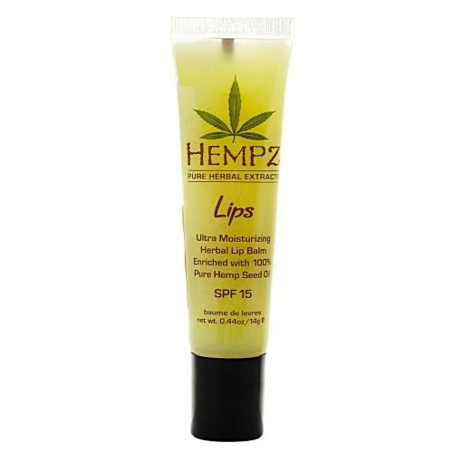 Hempz Бальзам для губ SPF Lip Balm SPF 15 14,5 г110-1275-08Бальзам для губ Lip Balm SPF 15 позволяет сохранить кожу губ мягкой и нежной в любых погодных условиях. Уникальная формула бальзама, с содержанием масла жожоба, витамина E и экстрагированных компонентов семян конопли, оберегает губы от негативных внешних воздействий и жесткого ультрафиолетового излучения. Бальзам мягко тонизирует и увлажняет, обладает заживляющим эффектом. Состав активных компонентов: очищенное конопляное масло, витамин Е, масло жожоба, октил метоксициннамат, оксибензон.