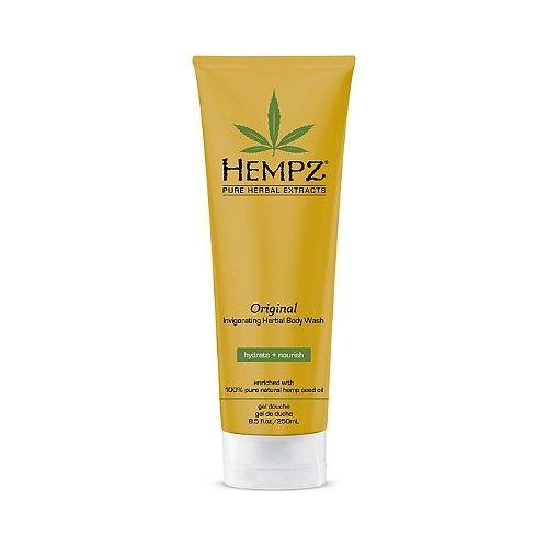 Hempz Гель для душа Оригинальный Original Body Wash 250 млFS-00897Формула на основе 100% натурального масла семян конопли для мягкого очищения, увлажнения и мягкости кожи. Содержит витамины А, С и Е для защиты от внешнего негативного воздействия. Масло Ши для питания и интенсивного увлажнения кожи.