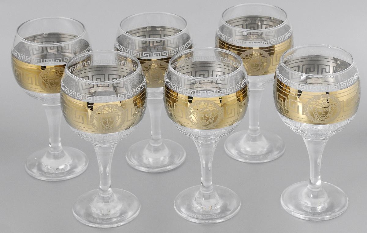 Набор бокалов для вина Мусатов Йети, 260 мл, 6 шт411/41Набор бокалов для вина Мусатов Йети изготовлен из натрий-кальций-силикатного стекла. Набор состоит из 6 бокалов, выполненных в элегантном дизайне. Набор предназначен для подачи вина. Набор бокалов Мусатов Йети прекрасно оформит праздничный стол и создаст приятную атмосферу за романтическим ужином. Такой набор также станет хорошим подарком к любому случаю. Можно мыть в посудомоечной машине. Диаметр бокала (по верхнему краю): 6,5 см. Высота бокала: 16,5 см. Диаметр основания бокала: 6,5 см.