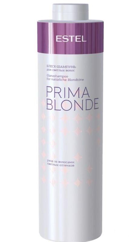 Estel Блеск-шампунь для светлых волос Prima Blonde 1000 млБ33041_шампунь-барбарис и липа, скраб -черная смородинаБлеск-шампунь мягко очищает волосы и подчеркивает красоту светлых оттенков. Волосы натуральные или окрашенные? Блеск-шампунь сглаживает различия: волосы оттенка блонд, независимо от того, были они окрашены или нет, наполняются здоровым солнечным сиянием! Система Nаturаl Peаrl с пантенолом и кератином заботится о волосах, способствуя восстановлению их структуры и наделяя мягкостью. Результат: Кератин – придает волосам здоровый и ухоженный вид, насыщает блеском Пантенол – восстанавливает и увлажняет волосы.