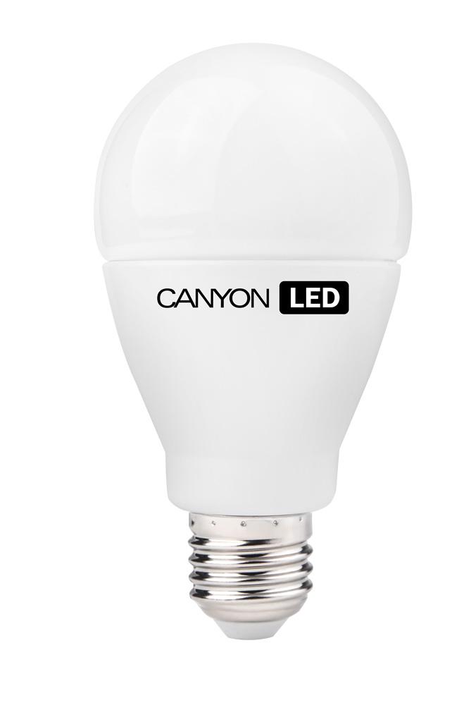 Лампа светодиодная Canyon, цоколь Е27, 15W, 2700КAE27FR15W230VWЛампочка традиционной формы Canyon излучает мягкий рассеянный свет. Имеет уникальный LED модуль Cob Ice Canyon, позволяющий избежать чрезмерного нагревания. Предназначена для установки в светильниках с патроном E27. Чрезвычайно низкое энергопотребление позволяет сэкономить до 90% энергии в сравнении с традиционными лампами накаливания.