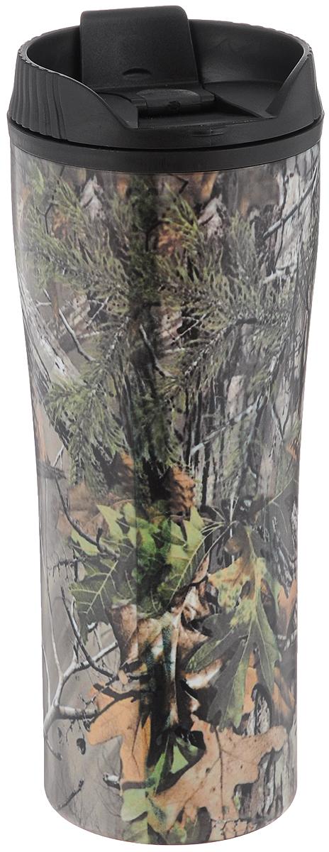 Кружка-термос Mayer & Boch, цвет: серый, зеленый, 560 мл25412Кружка-термос Mayer & Boch выполнена из высококачественной нержавеющей стали и термостойкого пластика с двойными стенками, которые защищают руки от высоких температур и позволяют дольше сохранять тепло напитка. Изделие имеет защиту от проливаний и оснащено удобной крышкой с открывающимся клапаном. Такая термокружка порадует каждого, кто ее увидит, и великолепно украсит кухонный интерьер. Высота кружки-термоса (с учетом крышки): 21 см. Диаметр основания кружки-термоса: 7 см. Диаметр горлышка: 8,5 см.