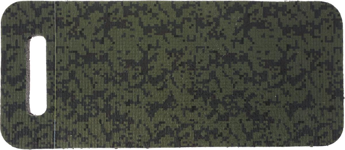 Коврик для садовых работ Eva, 42 х 18,5 х 1,5 смК014_зеленый/цифраМягкий дачный коврик для сидения Eva, изготовленный из пенополиэтилена, имеет небольшие размеры. Он обеспечит вам удобство и чистоту одежды. Такой коврик обладает закрытой пористой структурой, за счет чего он характеризуется небольшим весом, низкой теплопроводностью, хорошими водоотталкивающими свойствами и прочностью. Поэтому он наилучшим образом приспособлен для сидения на сырой и холодной земле (под открытым небом, в палатке или спальнике). Изделие оснащено удобной ручкой для переноски.