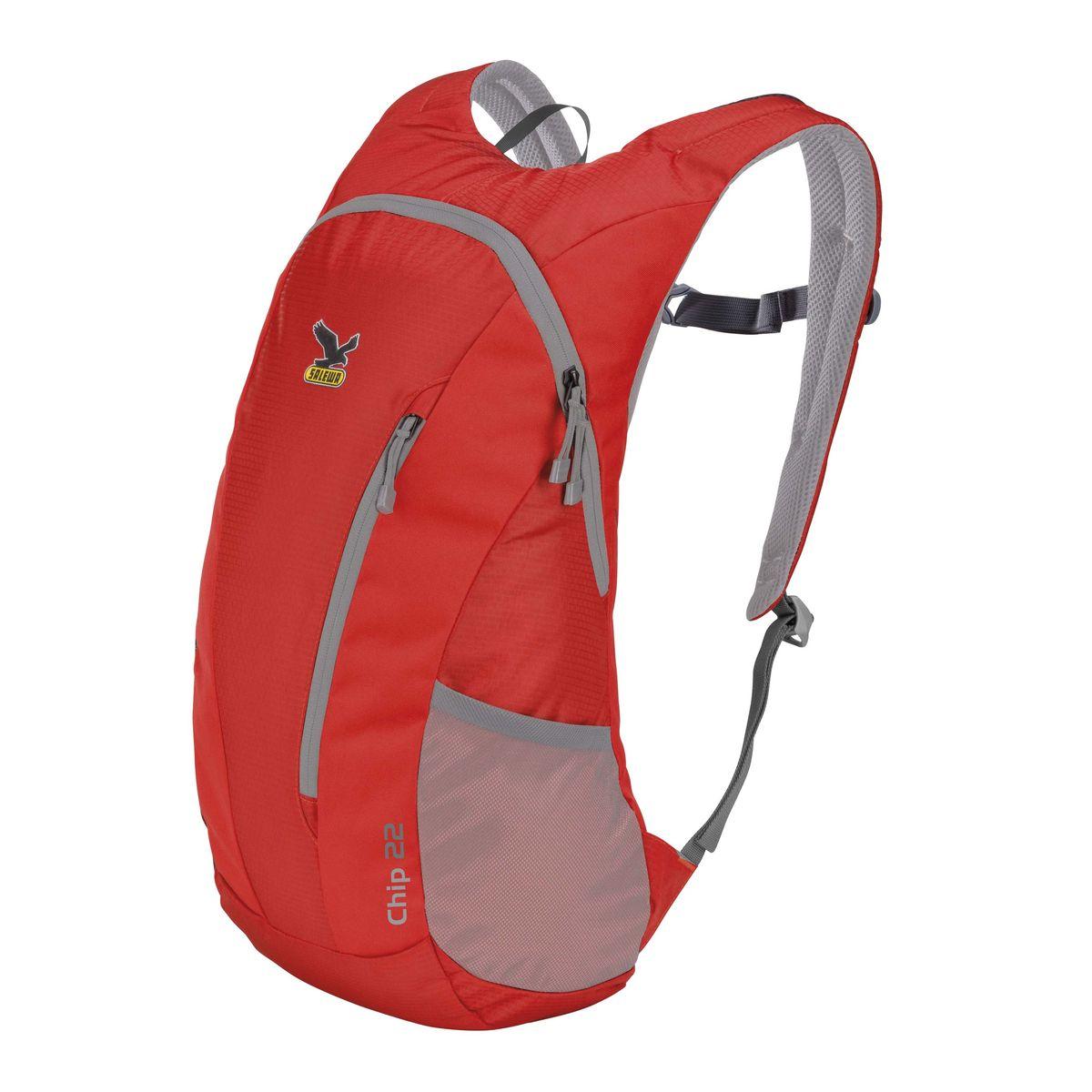 Рюкзак городской Salewa Daypacks CHIP 22, цвет: красный, 22л1130_1500Компактный городской рюкзак для повседневного использования и активного досуга. Comfort Fit обеспечивает комфортное распределение нагрузки и вентиляцию. Особенности: - переднее отделение - боковые карманы