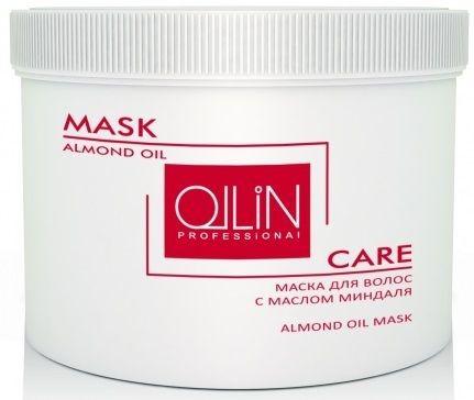 Ollin Маска для волос с маслом миндаля Care Almond Oil Mask 500 мл ardes масло миндаля c блеском для лица тела волос 100 мл almond shine linea oli puri