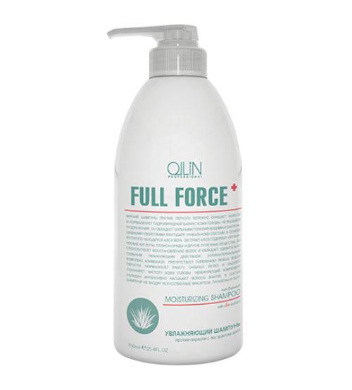 Ollin Увлажняющий шампунь против перхоти с экстрактом алоэ Full Force Anti-Dandruff Moisturizing Shampoo 750 мл4605845001470Anti-Dandruff Moisturizing Shampoo - шампунь увлажняющий против перхоти с экстрактом алоэ. Бережно очищает, препятствует образованию перхоти и нормализует гидролипидный баланс кожи головы. Обладает сильными тонизирующими и бактерицидными свойствами. Сильное увлажняющее действие шампуня обеспечивается сочетанием экстракта алоэ и налидона. Климбазол отвечает за регулирование работы сальных желез и решение проблемы перхоти.Без искусственных красителей, Без парабенов, Без SLES