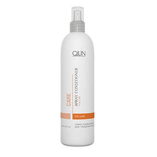 Ollin Спрей-кондиционер для придания объема Care Volume Spray Conditioner 250 мл727021Спрей-кондиционер для придания объема Ollin Care Volume Spray Conditioner, придающий объем тонким волосам. Содержит UV-фильтры и защищает прическу от влажности. Укрепляет стержень волоса, добавляя энергию и силу. Натуральные экстракты питают и увлажняют волосяную кутикулу. Спрей Ollin volume spray conditioner укрепляет стержень волоса и увеличивает диаметр, добавляя энергию и силу. Усиливает блеск и облегчает расчёсывание, делает волосы мягкими.