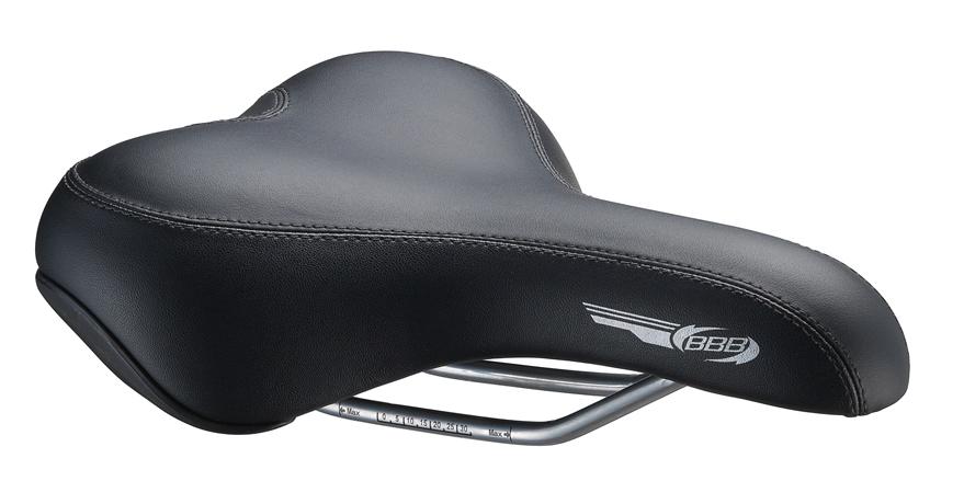 Седло спортивное BBB MemoComfort. BSD-16BSD-16Анатомический дизайн. Удобное спортивное седло. Технология двойной плотности. Мягкая пена с эффектом памяти адаптируется к человеческому телу и поглощает вибрацию от дороги. ComfortLite Размер: 180 х 250 мм.