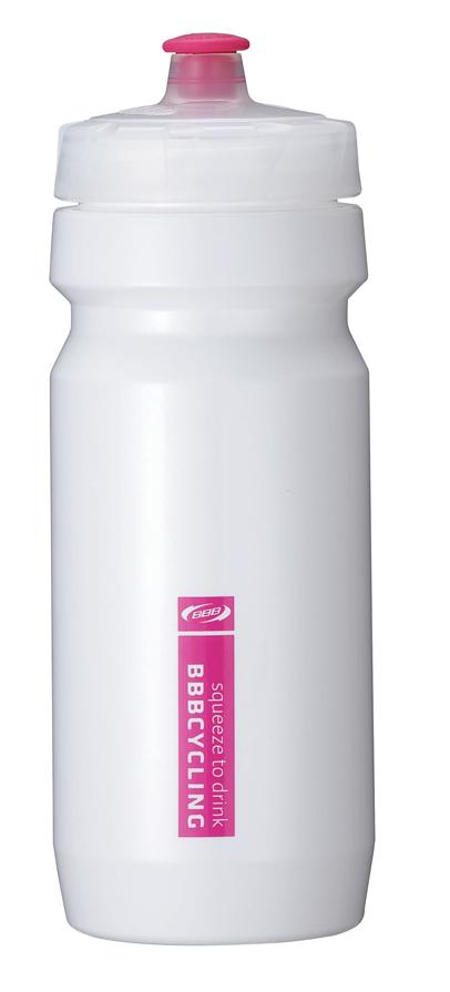 Бутылка для воды BBB CompTank, велосипедная, цвет: белый, пурпурный, 550 млBWB-01Бутылка для воды BBB CompTank изготовлена из высококачественного полипропилена, безопасного для здоровья. Закручивающаяся крышка с герметичным клапаном для питья обеспечивает защиту от проливания. Оптимальный объем бутылки позволяет взять небольшую порцию напитка. Она легко помещается в сумке или рюкзаке и всегда будет под рукой. Такая идеальная бутылка небольшого размера, но отличной вместимости наполняет оптимизмом, даря заряд позитива и хорошего настроения. Бутылка для воды - отличное решение для прогулки, пикника, автомобильной поездки, занятий спортом и фитнесом. Высота бутылки (с учетом крышки): 21 см. Диаметр по верхнему краю: 5,5 см. Диаметр основания: 6,5 см.