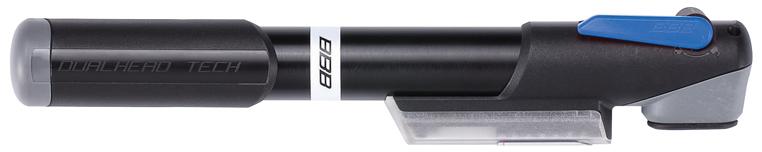 Велонасос BBB WindGun S. BMP-57BMP-57BMP-57 Насос BBB WindGun S alu, корпус сделан из алюминия 6063 T6, двойная шкала манометра, Т-образная фиксирующая рукоятка. Подходит для ниппелей Presta, Schrader и Dunlop. Давление до 7bar/100psi.