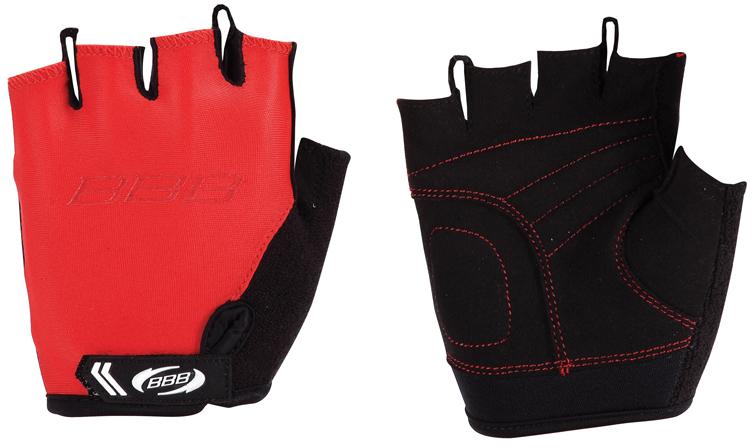 Перчатки детские велосипедные BBB Kids, цвет: красный, черный. BBW-45. Размер MBBW-45Перчатки BBB Kids разработаны специально для детских рук. Дышащий верхний слой выполнен из эластичной лайкры. Ладонь изготовлена из материала Amara с дополнительной подкладкой из вспененного материала. Застежки велкро (Система WristLock) надежно фиксируют перчатки на руке. Петли между пальцами обеспечивают легкое снимание перчаток.