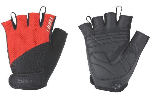 Перчатки велосипедные BBB Chase, цвет: черный, красный. BBW-49. Размер XXLBBW-49Комфортные летние перчатки. Максимальная вентиляция за счет тыльной стороны перчаток из сетчатого материала. Ладонь из материала Serino с гелевыми вставками для большего комфорта. Застежки велькро (Система WristLock). Вставка для удаления влаги/пота.