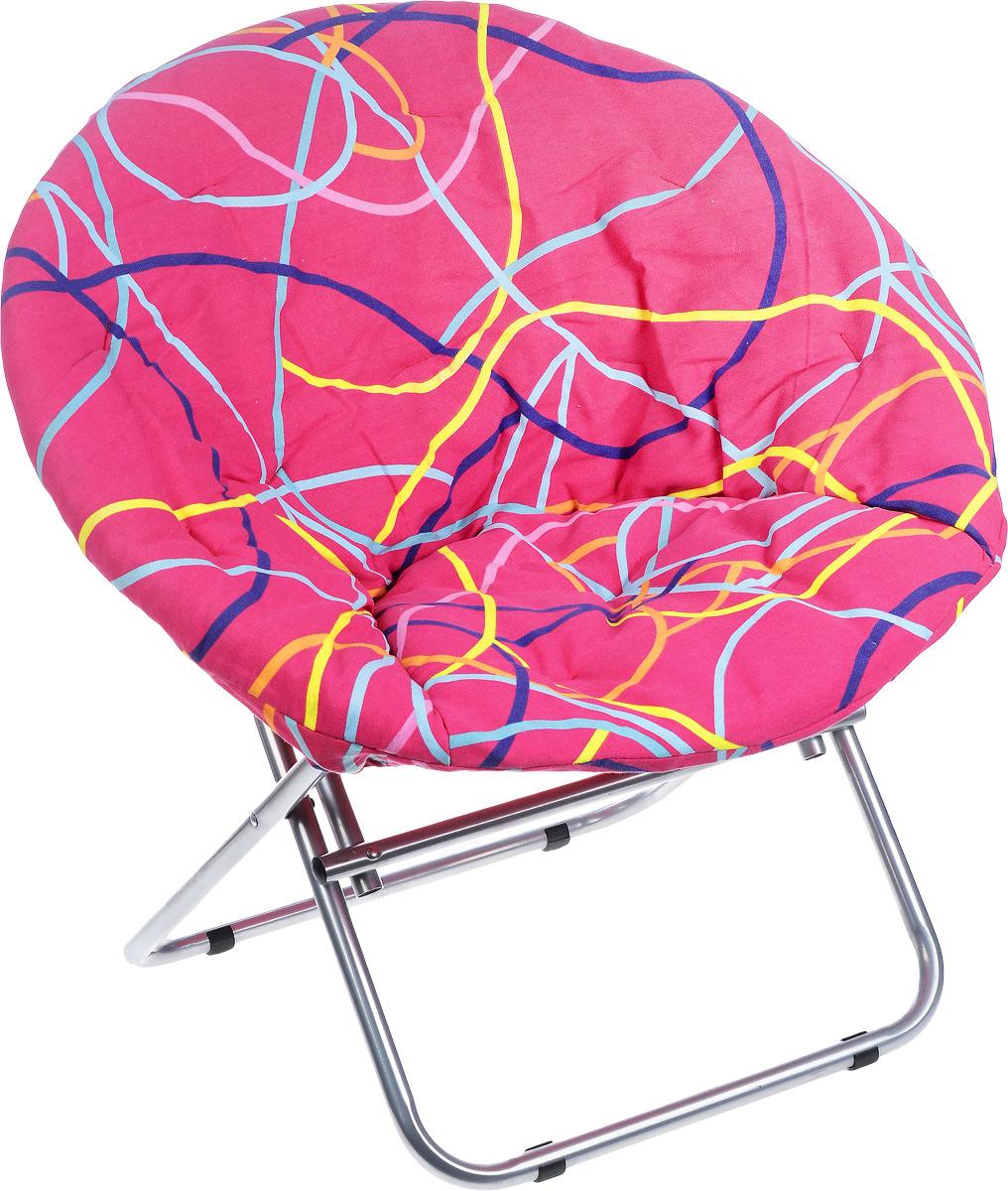 Кресло садовое Wildman, со съемным чехлом, 77 х 64 х 80 смGESS-725Внешне кресло Wildman не отличается от обыкновенного кресла. На нем можно удобно расположиться в тени деревьев, отдохнуть в приятной прохладе летнего вечера. Каркас кресла выполнен из прочного металла, а чехол, который при необходимости можно снять, из текстиля.В использовании садовое кресло достойно самых лучших похвал. Его очень легко перенести в другое место. Во время летних праздников, пикников, семейных встреч садовое кресло решит проблемы с размещением гостей.