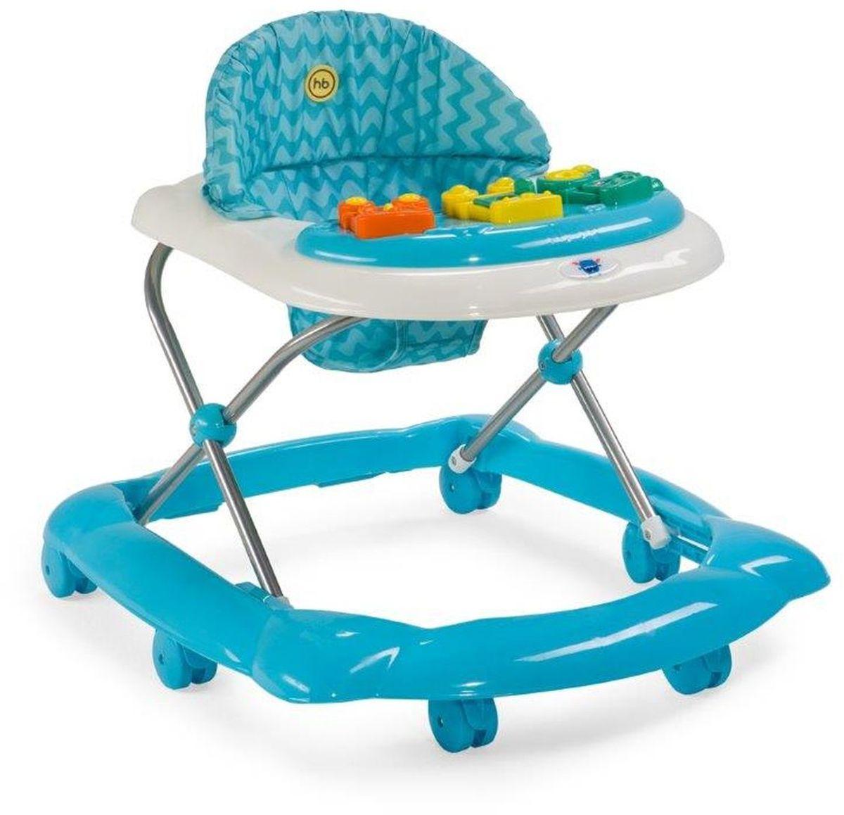 Happy baby Ходунки Pioneer цвет голубой 4650069783060