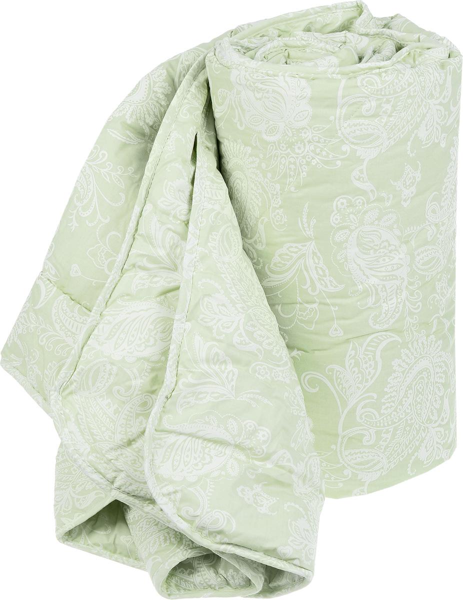 """Одеяло Classic by Togas """"Эвкалипт-Натурэль"""", наполнитель: эвкалиптовое волокно, цвет: светло-зеленый, 200 х 210 см 20.04.15.0088"""