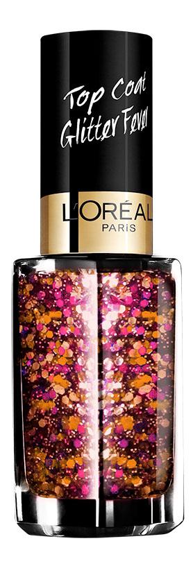 LOreal Paris Верхнее покрытие для ногтей Top Coat, оттенок 953, Болливуд, 5 млA8801800Верхнее покрытие Color Riche – самый последний тренд в области маникюра. С помощью уникальной коллекции эффектов теперь возможно придать ногтям совершенно новый, роскошный вид.