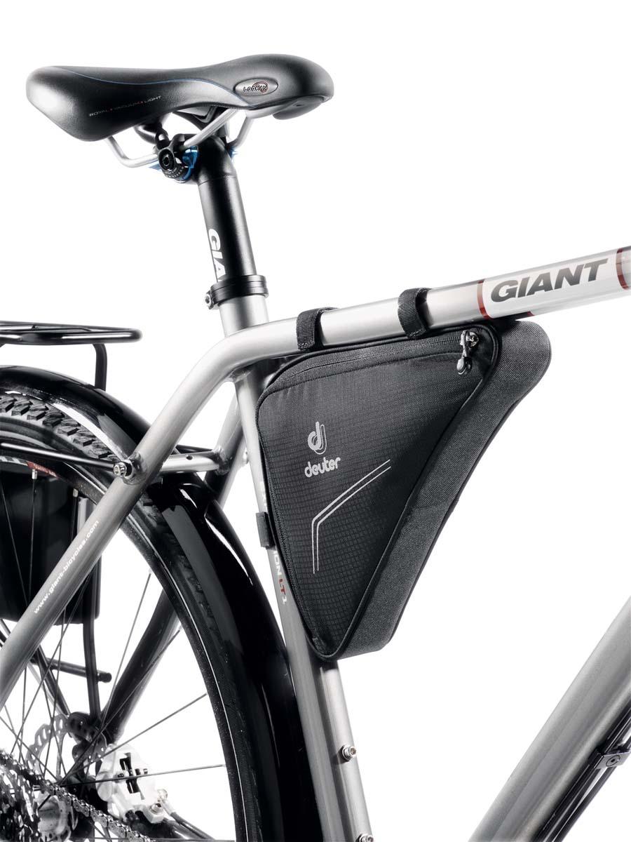 """Сумка под раму Deuter """"Bike Accessoires Triangle Bag"""", цвет: черный, 1, 7л 32692_7000"""