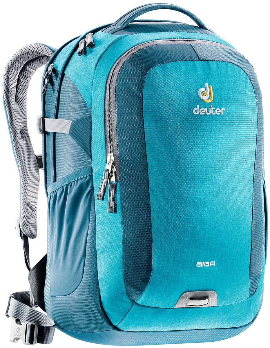 Рюкзак Deuter Daypacks Giga, цвет: бирюзовый, 28 л рюкзак deuter daypacks giga pro цвет черный серый 31 л