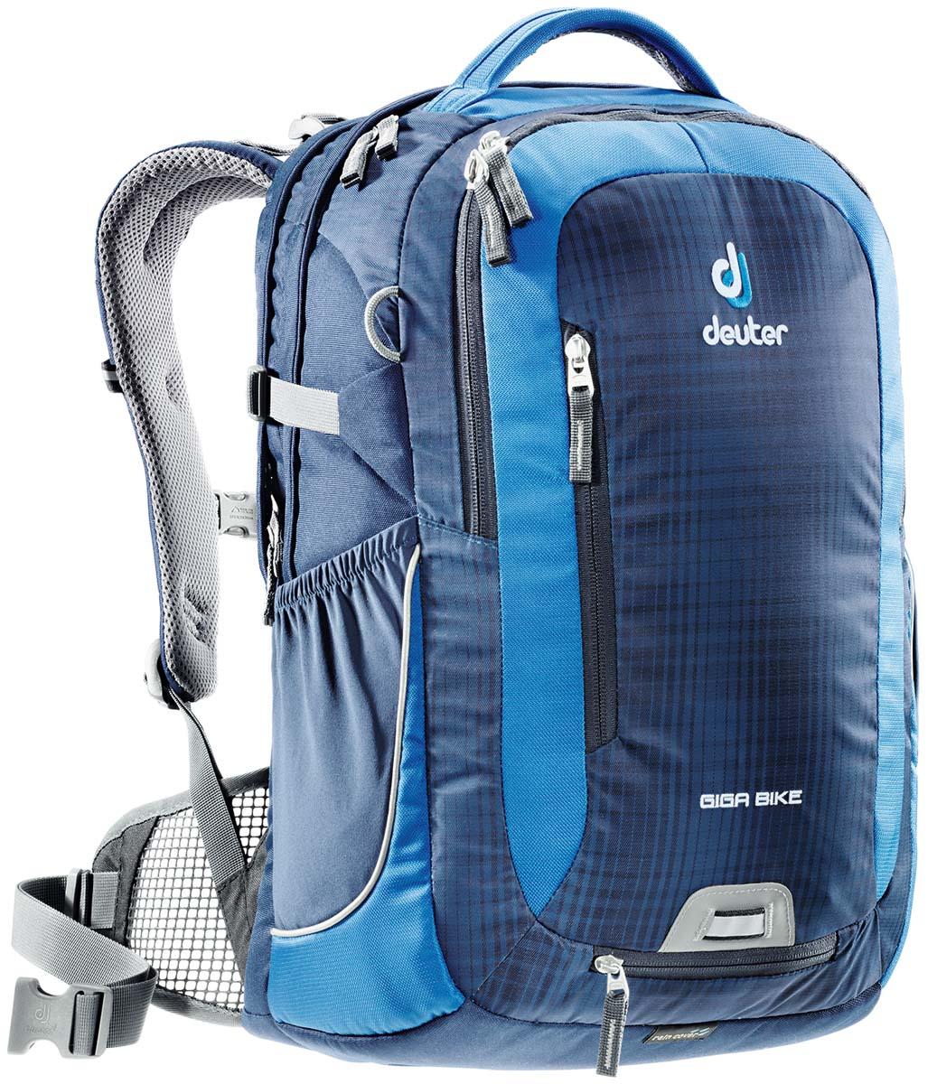 Рюкзак Deuter Giga Bike, цвет: светло-голубой, синий, 28л туристический рюкзак deuter 80419 giga