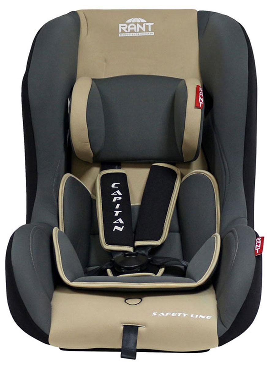 Rant Автокресло Capitan цвет бежевый до 25 кг4630008874394Детское автокресло Rant Capitan разработано для детей весом до 25 кг (приблизительно от рождения до 6-7 лет). Автокресло может устанавливаться как по ходу движения, так и против хода движения. Для новорожденного малыша автокресло фиксируется в автомобиле против хода движения (малыш лицом назад), пока малыш научится хорошо сидеть. С 7-8 месяцев автокресло устанавливается лицом вперед и эксплуатируется приблизительно до 5-6 лет (9-25 кг). Особенности: Удобное сиденье с мягким вкладышем делает кресло комфортным и безопасным для малышей. Усиленная боковая защита обеспечит безопасность ребенка от ударов при боковых столкновениях. Автокресло оснащено пятиточечными ремнями безопасности с мягкими плечевыми накладками (уменьшают нагрузку на плечи малыша). Накладки обеспечивают плотное прилегание и надежно удержат малыша в кресле в случае ударов. Ремни удобно регулировать под рост и комплекцию ребенка без особых усилий. Съемный чехол автокресла Capitan изготовлен...