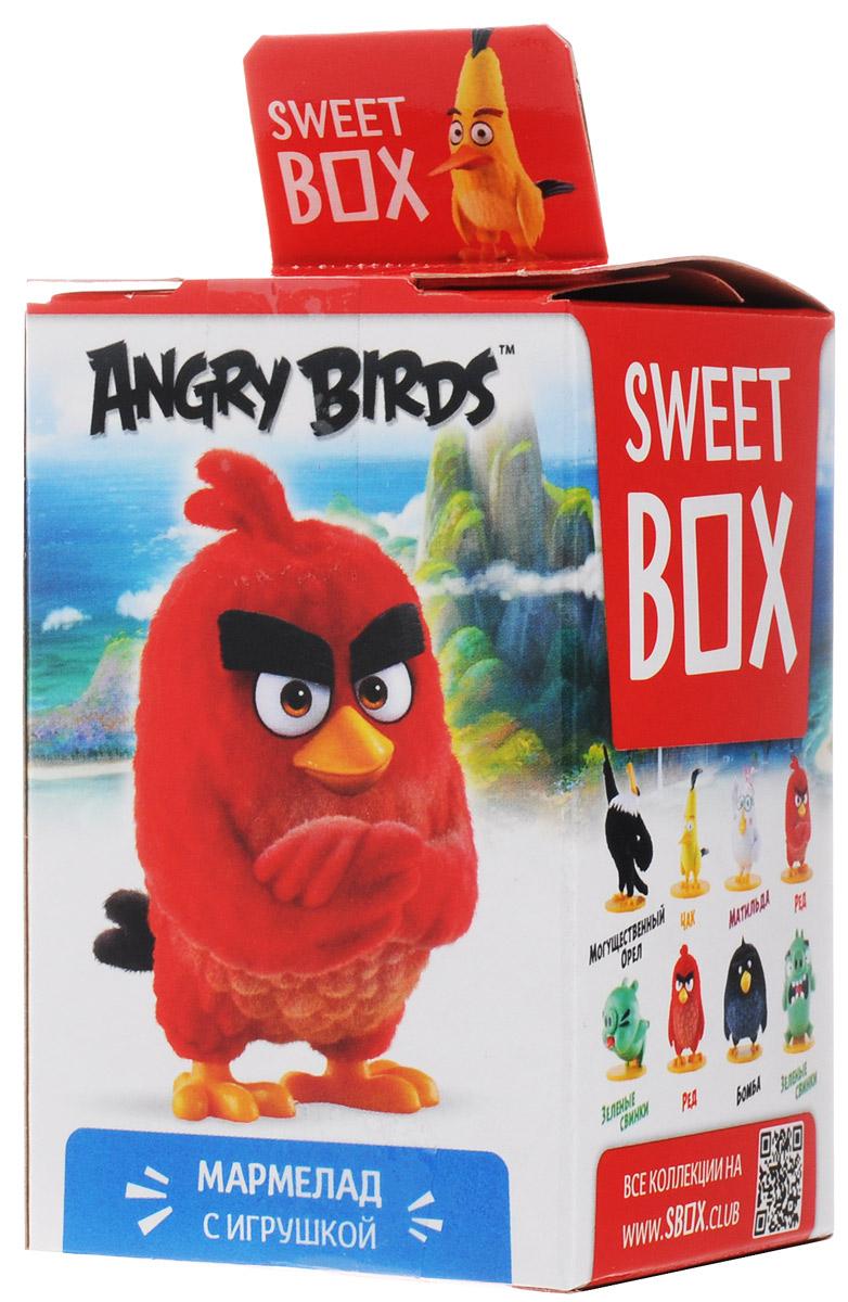 Sweet Box Angry Birds мармелад жевательный с игрушкой, 10 г6942971507581Sweet Box Angry Birds - коллекционная игрушка со сладким сюрпризом. Герои знаменитого противостояния, персонажи популярной компьютерной игры. Узнай все тайны птичек и свинок! Собери всю коллекцию!