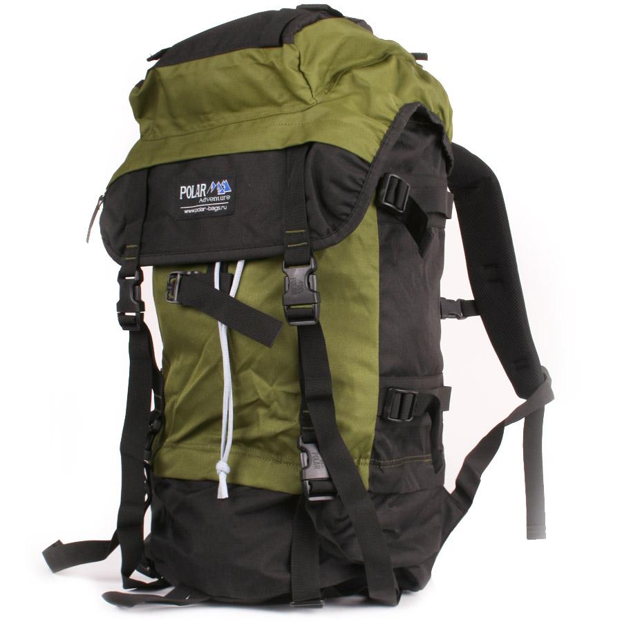Рюкзак экспедиционный Polar, 45 л, цвет: темно-зеленый. П930-08П930-08Рюкзак с загрузкой сверху отлично подойдет для прогулок в горах и походов. Эффективная система вентиляции спины Air плюс полный набор функций. Основное отделение разделено на две части для разных вещей. При желании его можно сделать одним объемным просто расстегнув молнию на перегородке. -Набедренный поддерживающий пояс . - Плечевые лямки анатомической формы из сетки со стабилизирующими ремнями. - Карман в верхнем клапане. - Петли на верхнем клапане для крепления дополнительного снаряжения. -Петля для телескопических палок и ледовых инструментов. - Боковые и передние стягивающие ре