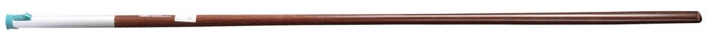 Черенок Raco, с быстрозажимным механизмом, длина 150 cм4230-53845Черенок Raco используется в качестве удлиняющей штанги для инструментов. Ручка оснащена быстрозажимным механизмом и металлическим ободом для длительного срока службы изделия. Длина изделия: 150 см.