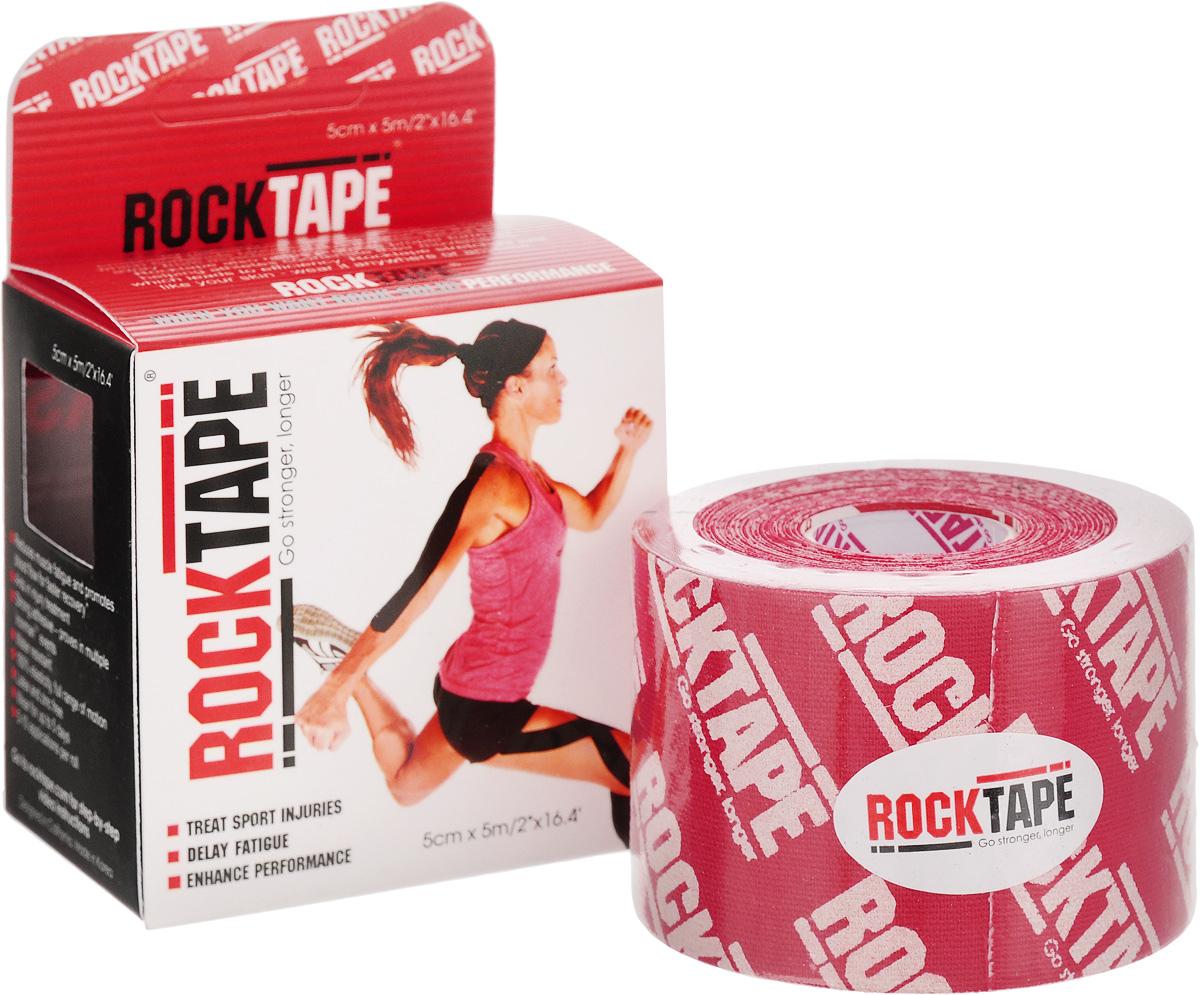 Кинезиотейп Rocktape Classic, цвет: красный, белый, 5 x 500 смRCT100-REDLG-OSКинезиотейп Rocktape Classic, выполненный из хлопка и нейлона, предназначен для снятия отеков и рассасывания гематом. Уменьшает мышечную усталость и способствует притоку крови для более быстрого восстановления. Изделие имеет плотную волнообразную структуру ткани. Не содержит латекса и цинка, водостойкий. Кинезиотейп носится до 5 дней, не теряя своих свойств. 180% эластичности.