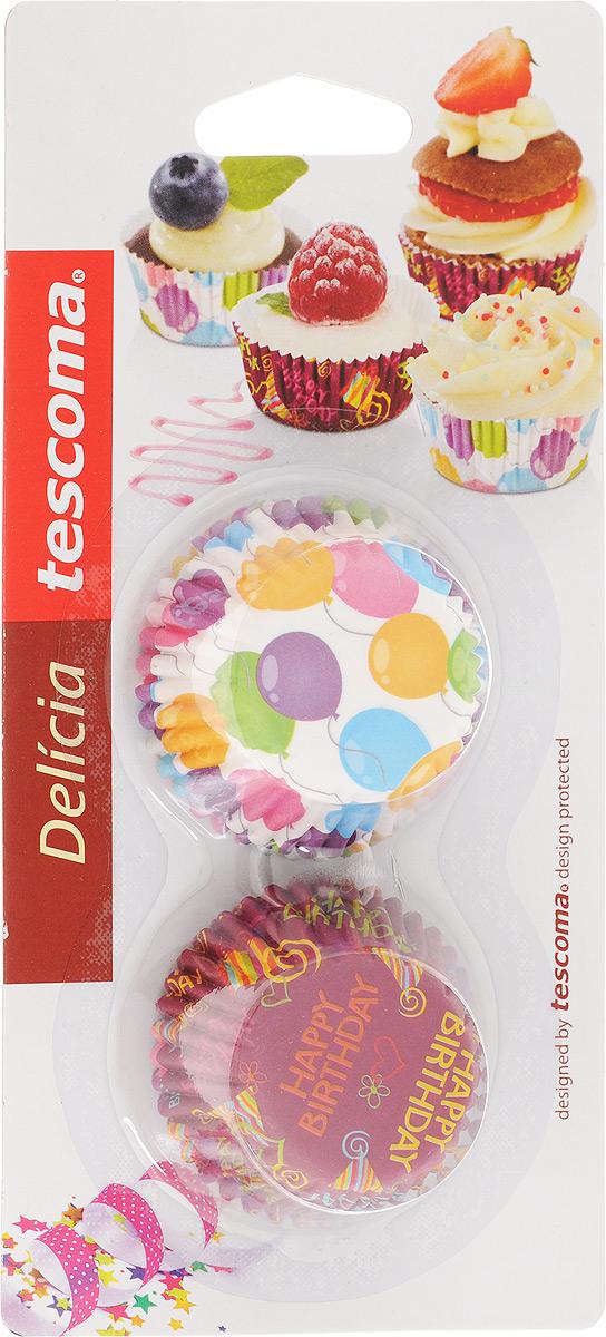 "Набор форм для выпечки Tescoma ""Delicia"", диаметр 4 см, 100 шт"