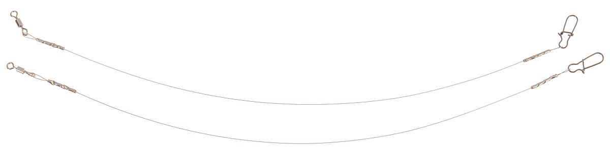 Поводок Win Soft Mirror, мягкий, тест 4 кг, 15 см, 2 штФуфайка Verticale FELXПоводок Win Soft Mirror изготовлен из особого титанового сплава. Он отражает и рассеивает свет, при невысокой освещенности становится невидимым. Мягкость и пластичность обеспечивает приманке большую свободу движений. При небольших механических повреждениях поводок восстанавливает форму от тепла рук. Многократно растягивается до 8% под нагрузкой без ущерба прочности. Не подвержен коррозии, не токсичен.Особенности поводка:Многократно испытан на прочность.Высококачественная фурнитура подобрана с достаточным запасом прочности.Контроль качества на всех этапах производства.Длина поводков: 15 см.Тест: 4 кг.Диаметр: 0,2 мм.