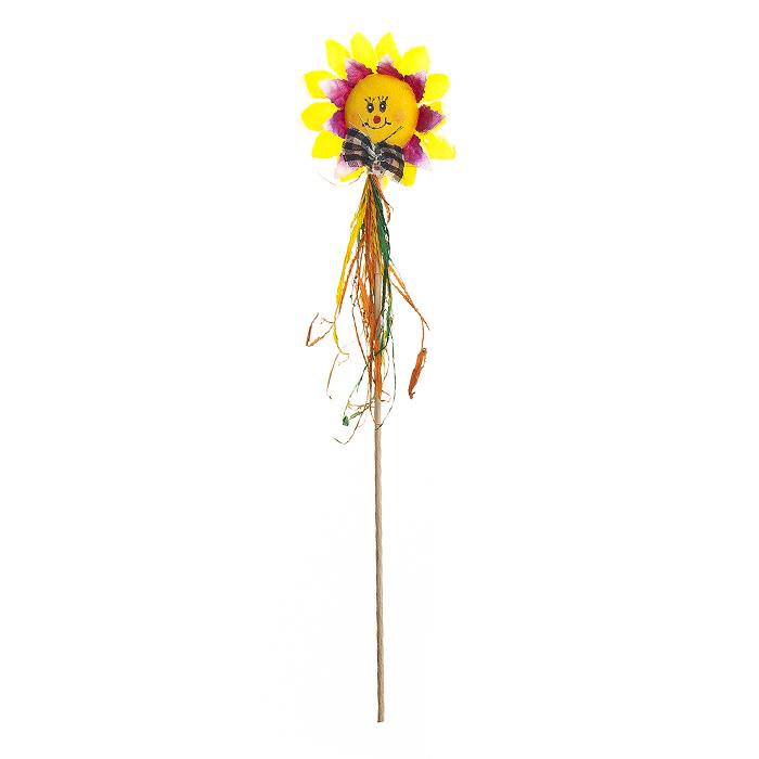 Украшение на ножке Village people Соломенные цветы, 7,5х18(32)см. 66943_166943_1