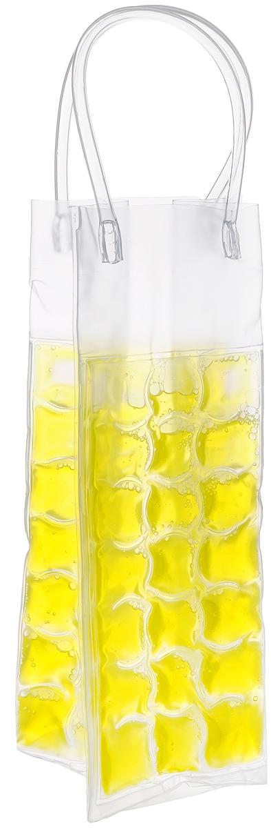 Сумка-термос Tescoma Mydrink, цвет: желтый, 10 х 9 х 25 см308846_желтыйСумка-термос Tescoma Mydrink предназначена для поддержания идеальной температуры холодных напитков жарким летом. Отлично подходит для сервировки белых, розовых вин и других прохладительных напитков в саду, на террасе и в доме. Изделие оснащено ручками, которые облегчают их переноску. Рекомендуется помещать сумку-термос перед каждым использованием по крайней мере на 8 часов в холодильник, затем вынуть и вложить в нее охлажденный напиток. Не подходит для использования в морозильной камере. Размер сумки-термоса (без учета ручек): 10 х 9 х 25 см.
