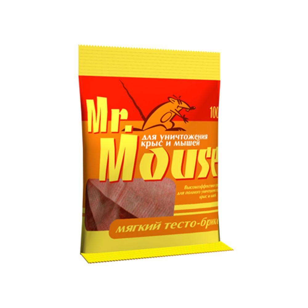 Тесто-брикет от грызунов Mr.Mouse, 100 г. СЗ.040005СЗ.040005Mr.Mouse мягкий тесто брикет, предназначен для уничтожения крыс и мышей. Способы применения Поместить брикет целиком или, разломав на части по 1 брикету от мышей и по 1-3 брикета от крыс поблизости от их нор, на путях перемещения, вдоль стен и перегородок. Расстояние между точками раскладки 2-10 метров в зависимости от захламленности помещений и численности грызунов. Осмотр проводят через 1-2 дня, а затем с интервалом в одну неделю, восполняя по мере поедания. Загрязненную приманку следует заменить на новую. Нетронутые брикеты можно перенести в другое место. Работу проводят до исчезновения грызунов Действующие вещество: брoдифакум - 0,005%