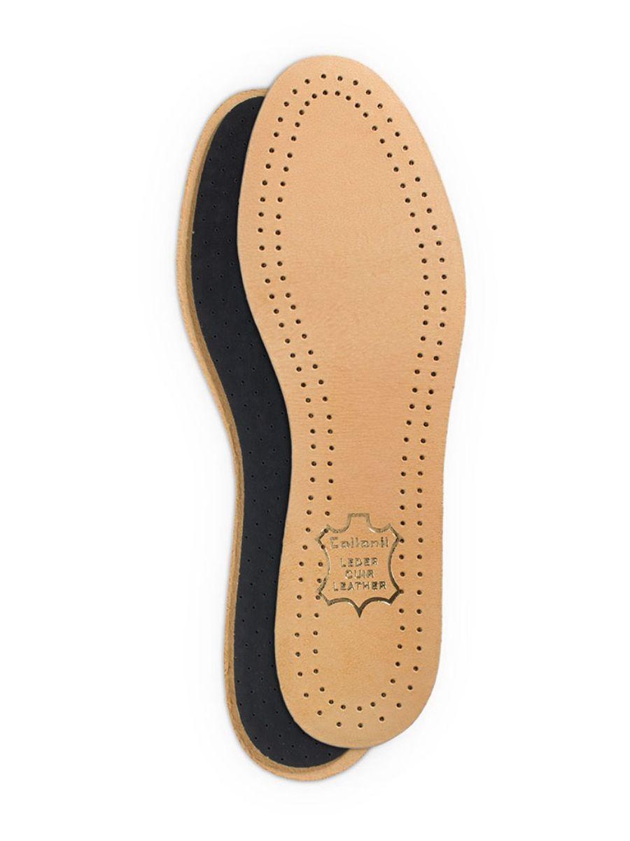 Стельки для обуви Collonil Luxor, с латексной основой, 2 шт. Размер 259011 250Стельки Collonil Luxor изготовлены из натуральной кожи с основой из латекса и фильтром из активированного угля. Прекрасно впитывают влагу и нейтрализуют неприятные запахи. Дополнительная перфорация гарантирует лучшую циркуляцию воздуха. Стельки обеспечивают мягкость и комфорт при ходьбе, а также дарят приятное ощущение сухости ног в обуви. Размер: 25. Количество: 2 шт.