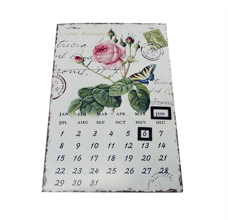 Календарь Miolla Роза, цвет: белый, 36 х 23,5 см7708-5