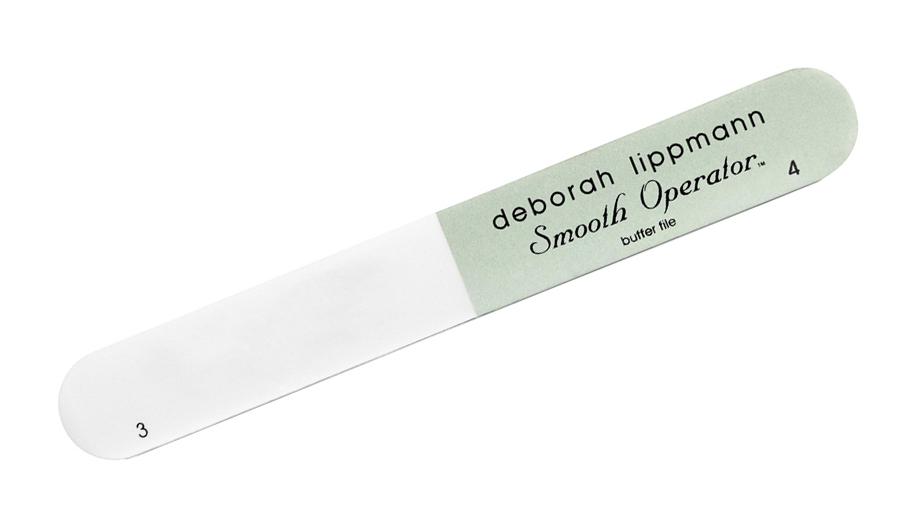Deborah Lippmann Smooth Operator пилочка для ногтей66001Пилочка для ногтей Deborah Lippmann - отличная основа для хорошего маникюра. Ровные детали и специальные материалы позволяют аккуратно обработать кончики ногтей, а также их гладкую поверхность для нанесении лака.