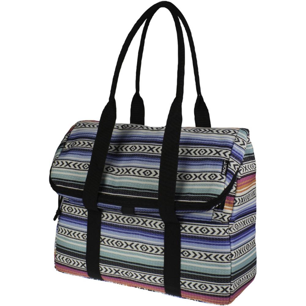 Сумка-холодильник Packit дорожная, цвет: голубой, 10 лPackit0018Охлаждение содержимых в сумке продуктов в течение 10-ти часов. Наличие плечевого ремня, обеспечивающего максимальное удобство транспортировки сумки.