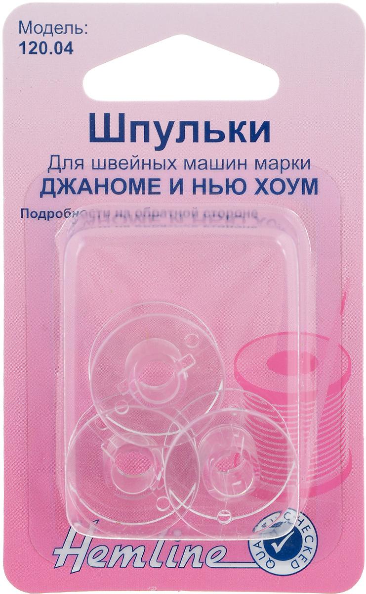 Шпульки Hemline, для швейных машин Джаноме/Нью Хоум, 3 шт120.04Шпульки Hemline подходят для швейных машин Janome/New Home, а также к швейным машинам Elna (Janome) с горизонтальной челночной системой. Изготовлены из прозрачного пластика. Пластиковые шпульки заменяют металлические шпульки, которыми снабжены машинки. Размер: 2 х 2 х 1 см.