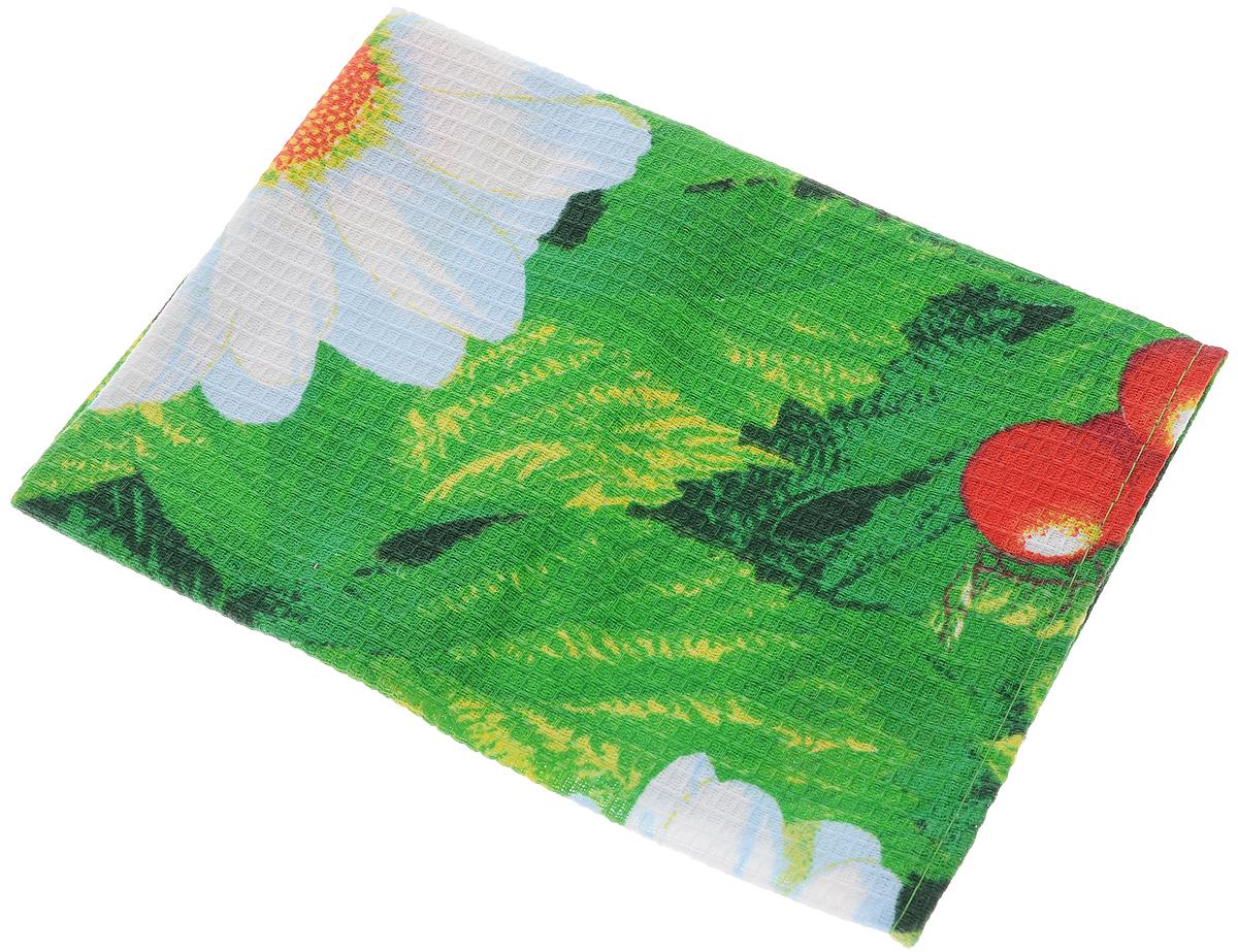 Полотенце кухонное Roko, 60 х 30 см115354Кухонное полотенце Roko, выполненное из 100% хлопка, оформлено оригинальным принтом. Изделие предназначено для использования на кухне и в столовой. Оно отлично впитывает влагу, быстро сохнет, сохраняет яркость цвета и не теряет форму даже после многократных стирок. Такое полотенце станет отличным вариантом для практичной и современной хозяйки. Рекомендуется стирка при температуре 40°C. Уважаемые клиенты! Товар поставляется в цветовом ассортименте. Поставка осуществляется в зависимости от наличия на складе.