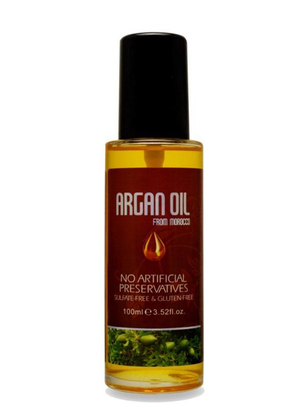 Morocco Argan Oil Масло арганы для волос 100 мл NuspaFS-00897Активные ингредиенты и их эффект:Масло арганы это натуральный растительный компонент, созданный природой для Вашей красоты. После использования этого жидкого золота волосы сияют изнутри, они гораздо лучше защищены от негативных факторов внешнего мира, получают максимум питания и увлажнения.Масло семян льна усиливает и дополняет действие масла арганы. Благодаря богатому составу оно замедляет выпадение волос, предотвращает образование перхоти, нормализует работу сальных желез. Льняное масло отлично питает увлажняет волосы, делает из послушными и гладкими.