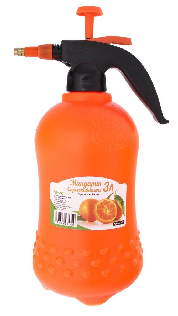 Опрыскиватель Изумруд Мандарин, 3 л, цвет: оранжевый4002
