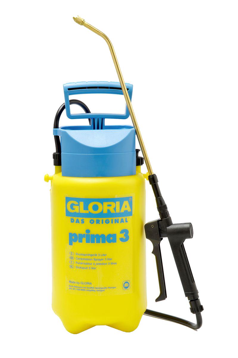 Опрыскиватель садовый Gloria Prima 3, 3 л000078.0000Опрыскивание тонкой струей ручного распылителя обеспечивает экономичность, удобство и практичность. В нашей большой, хорошо зарекомендовавшей себя программе по уходу за растениями, это самый востребованный опрыскиватель. Объем 3 л. и макс. рабочее давление 3 бар обеспечивает наилучшие результаты распыления. Модель оснащена встроенным предохранительным клапаном.