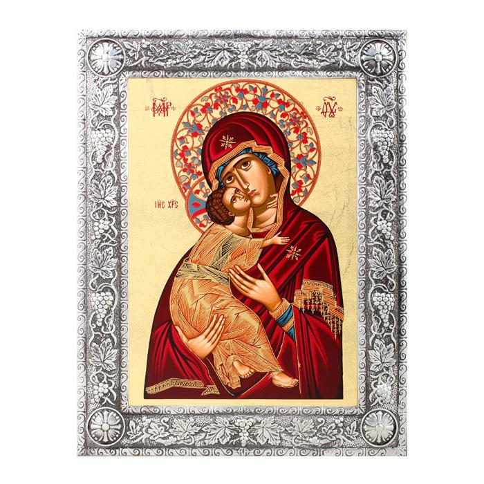 """Икона Артола """"Владимирская"""", 16,5 см х 21,5 см х 1 см IR-SBV-P2F"""