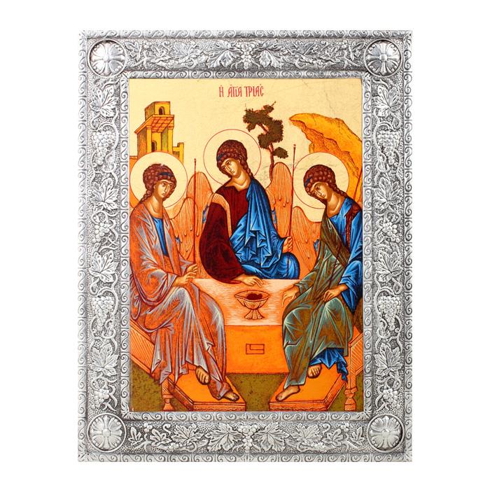 "Икона Артола ""Святая Троица"", 16,5 см х 21,5 см х 1 см IR-ST-P2F"