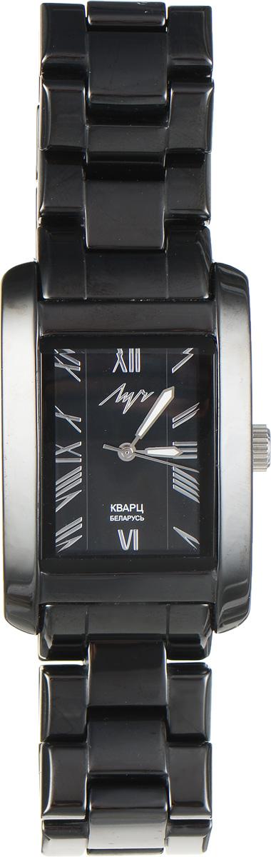 Часы наручные мужские Луч, цвет: черный. 928667186INT-06501Модные мужские часы Луч из Керамической коллекции выполнены из керамики, нержавеющей стали и минерального стекла. Циферблат дополнен символикой бренда. На стрелки нанесен светящийся состав.Корпус часов оснащен кварцевым механизмом со сменным элементом питания, а также дополнен браслетом, который застегивается на застежку-бабочку.Часы поставляются в фирменной упаковке. Часы Луч - стильный аксессуар, выгодно дополняющий любой образ.
